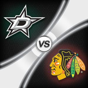 Blackhawks@Stars