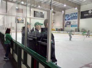 Curt Fraser, Jeff Reese a Stu Barnes